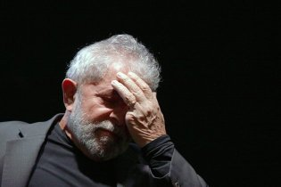 Lula abatido