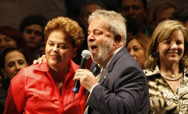 Dilma lula e gleisi